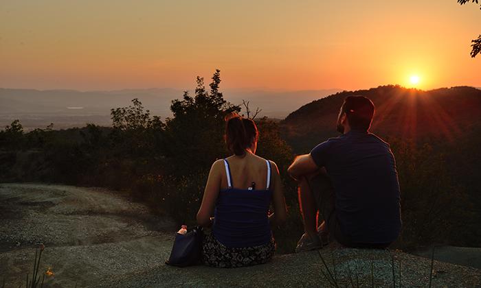 Hiking Mugello Sunset
